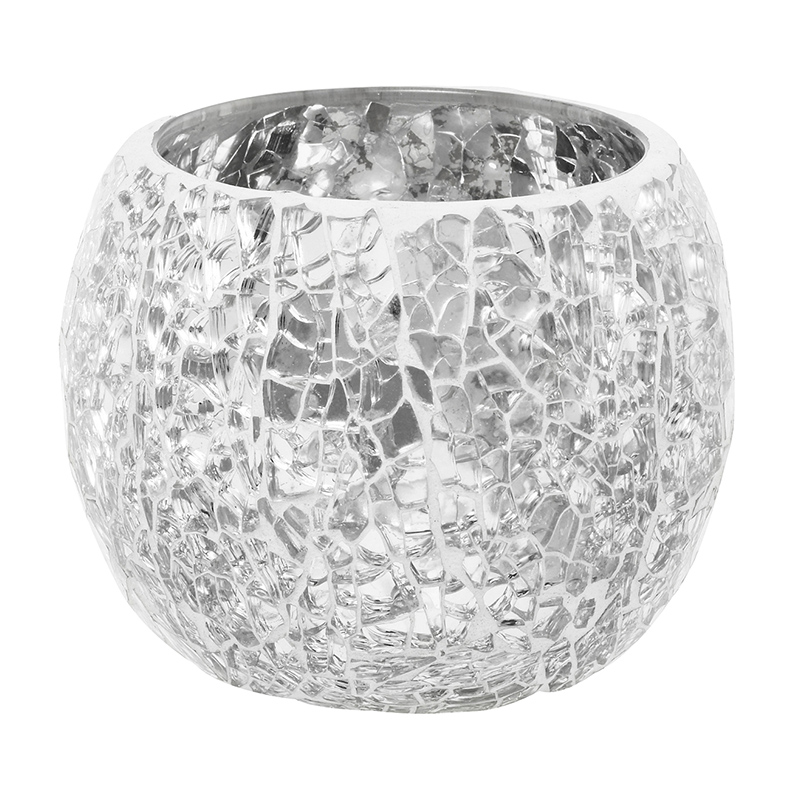 Make Your Venue Le With These Gorgeous Mosaic Mirrored Glass Candleholders They Come In Three Sizes And Two Shapes Cer A Mix Of All
