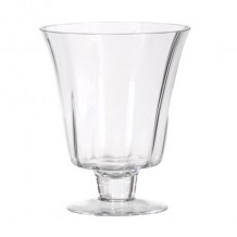 Shaped Posy Glass Vase