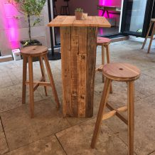 Wooden Stool bar
