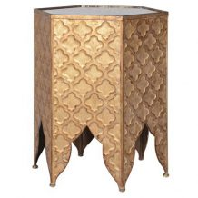 Gold Moroccan Table