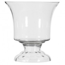 Urn Shaped Glass Vase Large