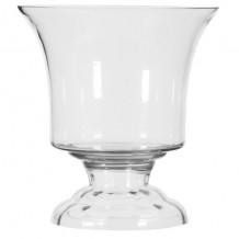Urn Shaped Glass Vase Large
