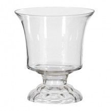 Urn Shaped Glass Vase Small