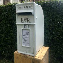 letter box wedding