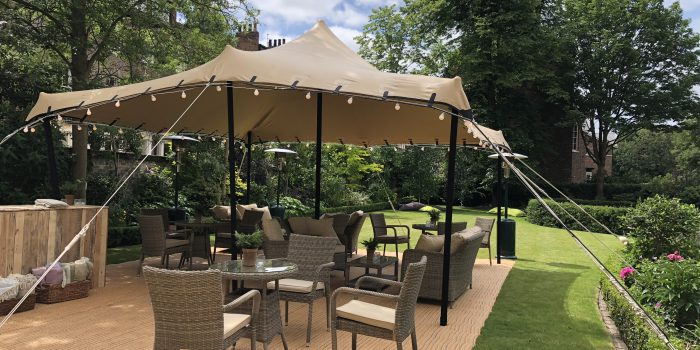 How to organise Al Fresco eating in style and comfort