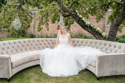 The Hawkhills Wedding - Curved Sofa
